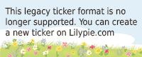 Lilypie Fünfter Ticker
