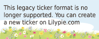 Lilypie 5° comp Ticker